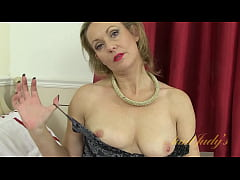 AuntJudys - 43yo UK Auntie Betsy in Stockings a...