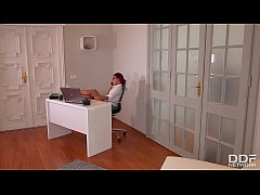 Rose Valerie's Anal Office Cleaning With Kai Ta...