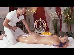 Massage Rooms Hot Russian model has her hole fi...