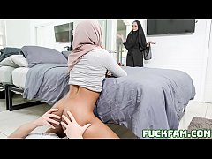 Pleasuring My Stepsister Milu Blaze In Her Hijab