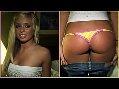 GIRLS GONE WILD - Hot blonde teen with a great ...