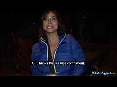Public Agent He spunks on Heidi Van Hornys soak...