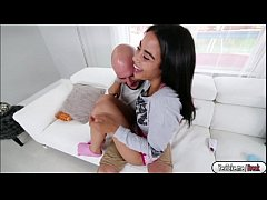 Cute babe Maya receives intense fuck