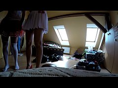 Upskirts in Changing Room, Naked and Changing C...