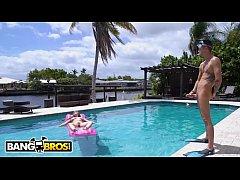 BANGBROS - Lena Paul Tans Her Natural Big Tits ...