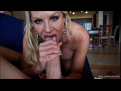 Huge Titted Wife Kelly Madison Strokes and Suck...