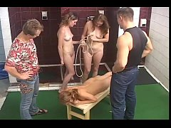 thumb russian spankin  g in the bath house ouse house ouse