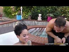 Poolman Makes Ebony Honey Gold Squirt