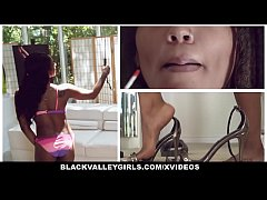 BlackValleyGirls - Ebony Hottie Gets Fucked Hard