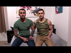 ActiveDuty Fresh Str8 Army Hunk Gets Ass Fucked...