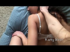 Stepsister lesbian touches girl until she cums ...