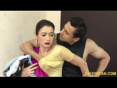 The hot maid Kaanta Bai caught red handed and f...