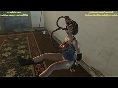 Jill Valentine in big Trouble Resident Evil