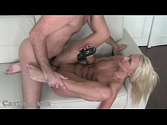 Casting She can't wait for cock
