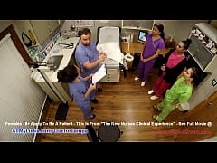 Student Nurses Lenna Lux, Angelica Cruz, & Rein...