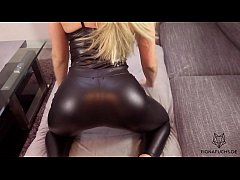 thumb blonde girl get  fucked in leather tights | fi her tights | fi her tights | fio