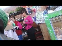 culona en el mercado