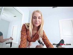 Sarah Vandella needs a ride on SON's cock