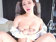 Sticky glob of cum on her fingers | BJ Neat (\uc9c4\uc11c)