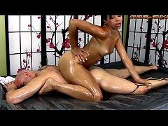 Adrian Maya Gives Erotic Oil Body-on-Body Massa...