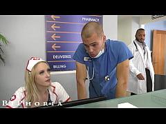 BiPhoria - Nurse Catches Doctors Fucking Then J...