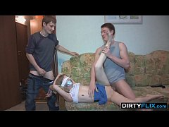 Dirty Flix - Surprise fuck and double cumshot S...