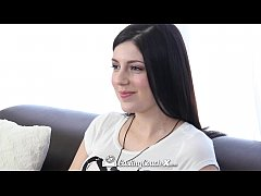CastingCouch-X - Sexy Miranda has sex on camera...