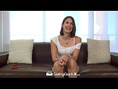 CastingCouch-X - Sweet Natural Ayn Marie tries ...