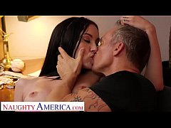 Naughty America Jazmin Luv goes to town on an o...