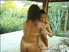 Brasilian hotties do lesbiansex