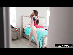 Teen sister blackmailed by horny brother