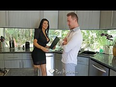 PUREMATURE Busty MILF real estate agent Romi Ra...