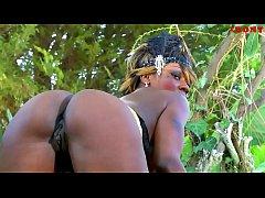 African mapouka booty goddess