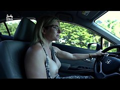 Secret Vacation with My Step Mom - Nude Car Rid...