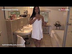 MyDirtyHobby - Horny college teen seduces her g...