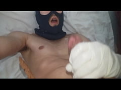 Facial cum in my mouth