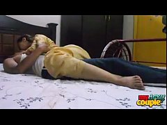 indian couple sex fucking hard in bedroom sonia...
