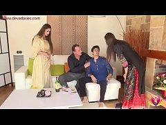 NRI Neighbor has Diwali sex with couple as her ...