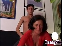 Grandma Wants It Hard And Rough On The Bed