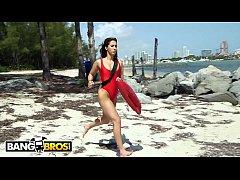 BANGBROS -  Latina Lifeguard Valerie Kay Rescue...