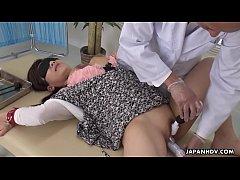 Japanese babe, Satomi Katayama sucks dicks, unc...