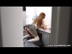She Is Nerdy - Sexy-ass student Veronika Fare f...