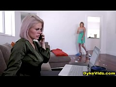 Milf boss hrasses her new assistant - old & you...