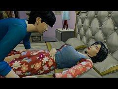 Japanese Son Fucks Sleeping Japanese Mom After ...