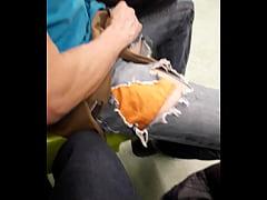 Chupadas en el metro