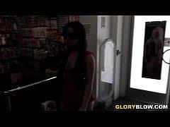 Jennifer White Tastes Black Cock - Gloryhole