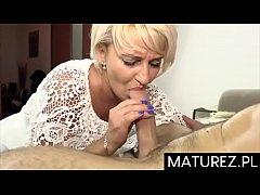 Polskie mamu\u015bki - Usta dojrza\u0142ej cioci Ma\u0142gorza...
