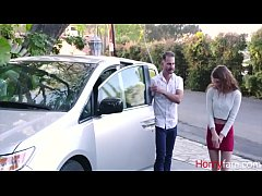 Teen Whore Daughter Will Do Anything For A Car,...