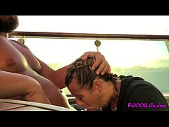 FoxxxLife - Morning boat sex with Brooke and Nick