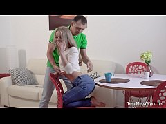 X-Angels.com - Calibri - Load of sperm for dessert